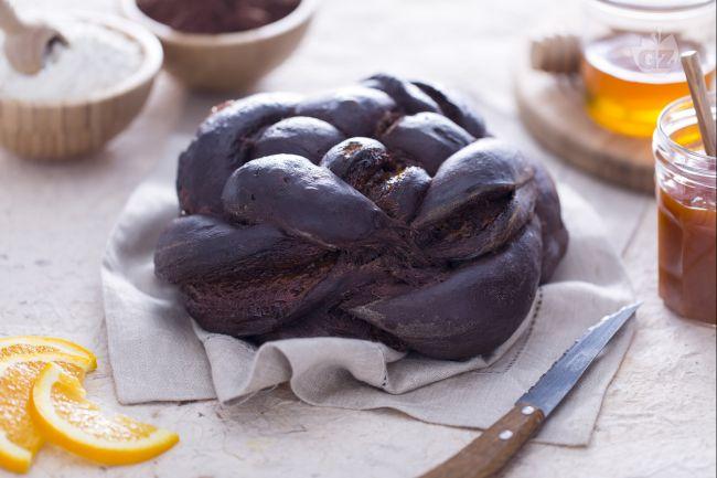 Ricetta challah al cioccolato