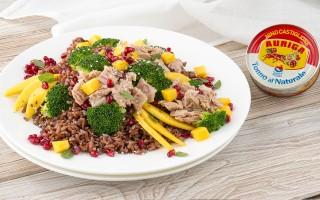 Ricetta insalata di riso rosso d'inverno