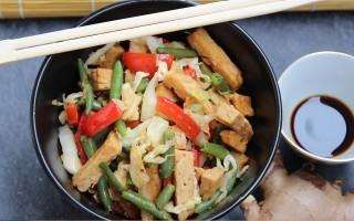 Ricetta tempeh saltato con verdure, zenzero e salsa di soia ...