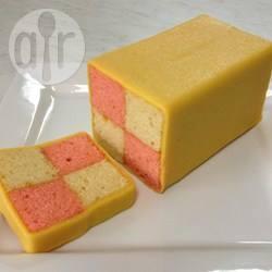 Battenberg cake (torta a scacchi inglese)