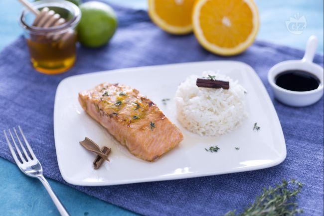 Ricetta salmone glassato al miele