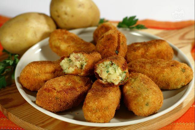 Ricetta crocchette di patate e speck