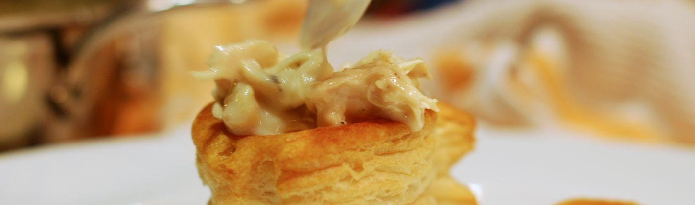 Ricetta vol-au-vent con pere e formaggio