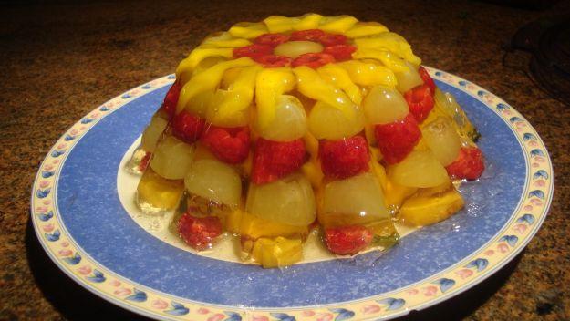 Ricetta aspic di frutta