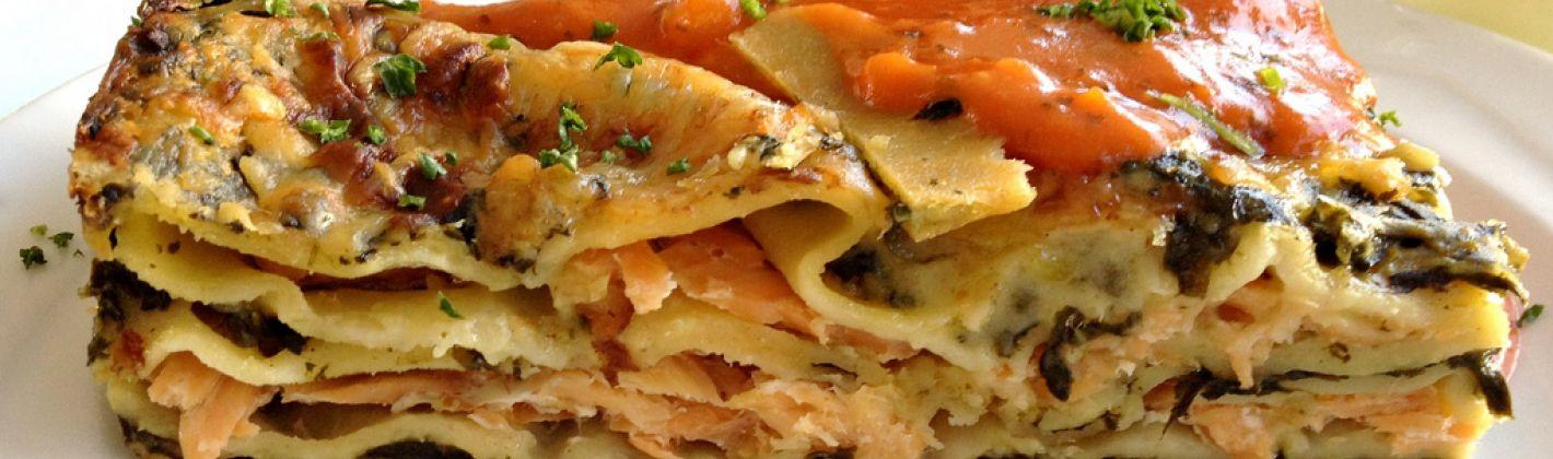 Ricetta lasagna di asparagi e salmone