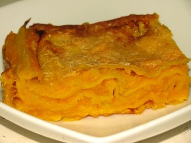 Ricetta lasagne con zucca e funghi porcini