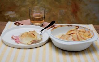 Ricetta gratin di cotto e fontina