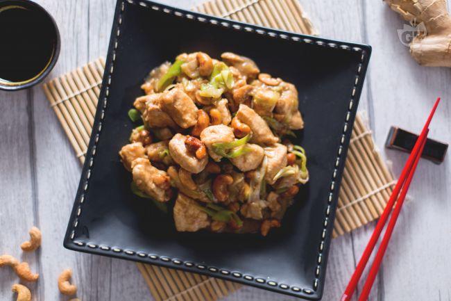 Ricetta pollo con anacardi