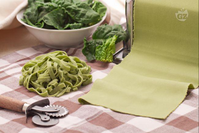 Ricetta pasta verde agli spinaci