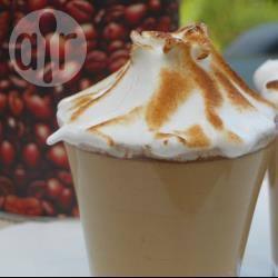 Irish coffee mousse