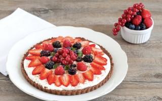 Ricetta torta senza cottura ai frutti rossi