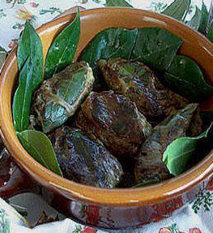 Ricetta fegato di maiale con la rezza