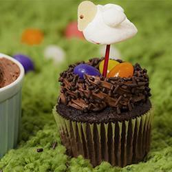 Nidi di cupcakes