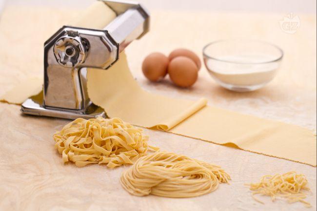 Ricetta pasta fresca all'uovo (sfoglia e formati)