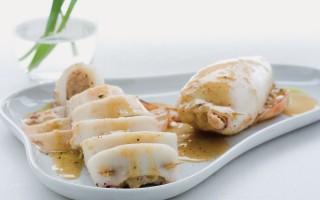 Ricetta calamari ripieni di gamberetti