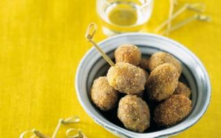 Ricetta palline di riso e olive