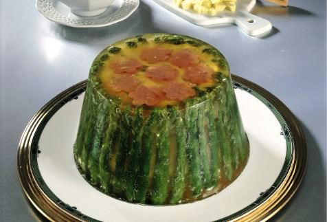 Verdure in gelatina