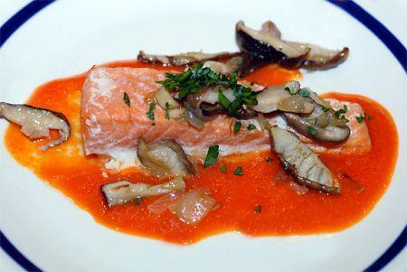 Ricetta salmone alla canadese