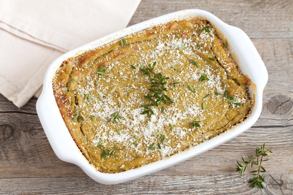 Ricetta sformato di carciofi al parmigiano