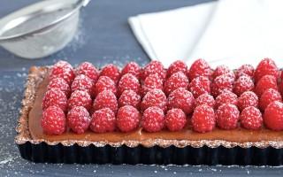 Ricetta torta mousse al cioccolato e lamponi