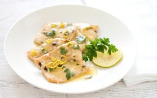 Ricetta scaloppine di tacchino al limone