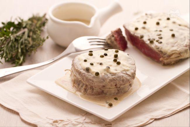 Ricetta filetto al pepe verde