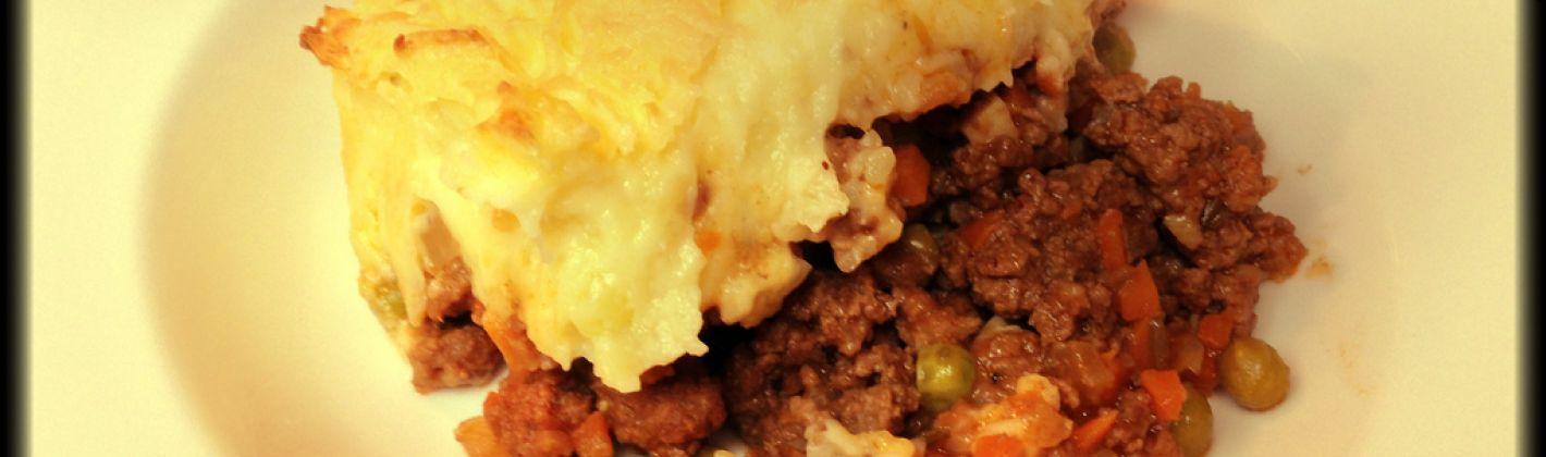 Ricetta cottage pie (pasticcio di carne e patate)