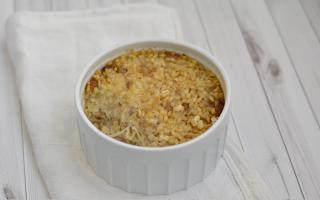 Ricetta timballo d'orzo con salsiccia e mozzarella