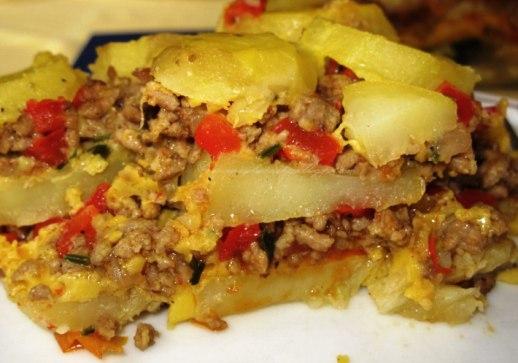 Moussaka con le patate