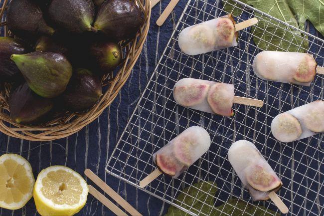 Ricetta ghiaccioli ai fichi e limone