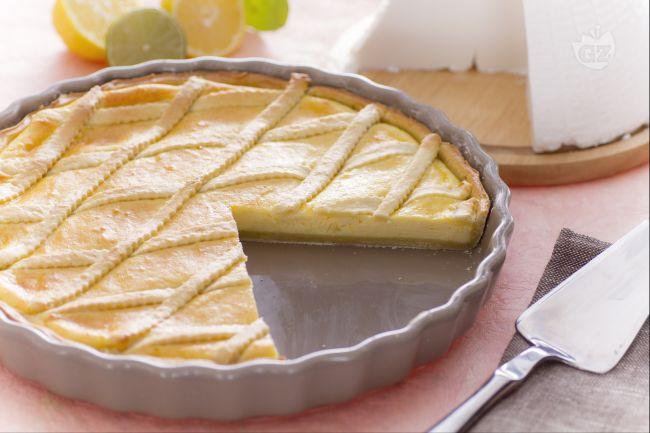 Ricetta torta di ricotta al limone