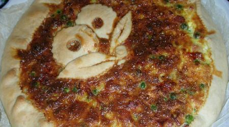 Ricetta torta salata di piselli e gorgonzola