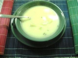 Ricetta zuppa di patate e yogurt