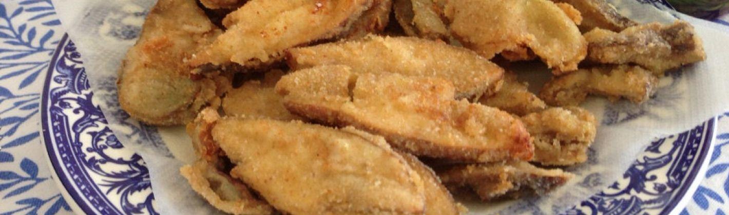 Ricetta funghi impanati e fritti