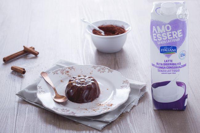 Ricetta budino cacao e cannella senza lattosio