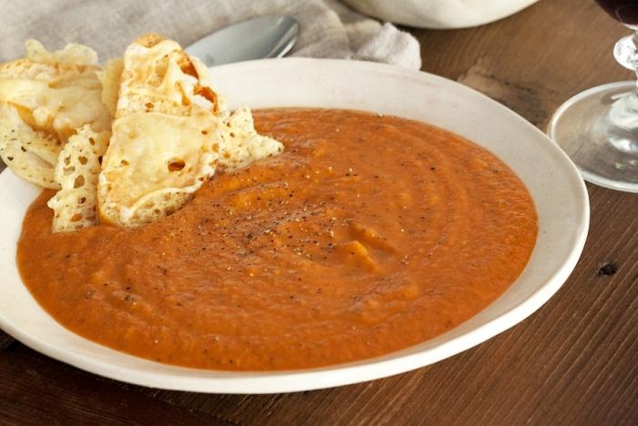 Zuppa d'aglio e pomodoro