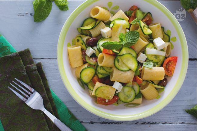 Ricetta pasta fredda alle zucchine