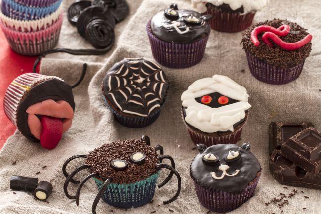 Ricetta cupcakes mostruosi di halloween