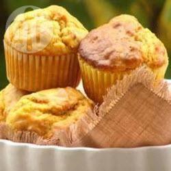 Muffin leggeri alla zucca e noci pecan