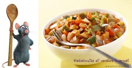 Ricetta ratatouille di verdure invernali