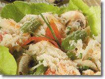 Ricetta macedonia con polpa di granchio