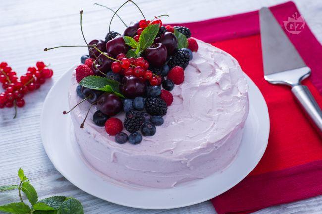 Ricetta torta di compleanno estiva