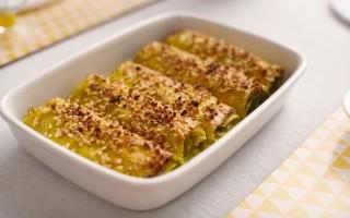 Ricetta cannelloni di crepes ripieni di avocado e fontalpe con ...