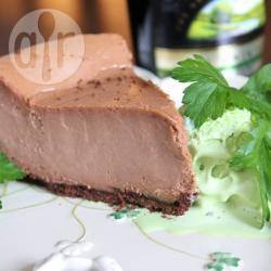 Cheesecake al cioccolato e crema di whisky