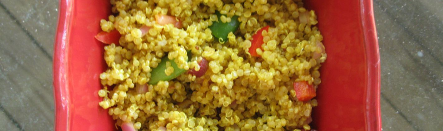 Ricetta quinoa al curry