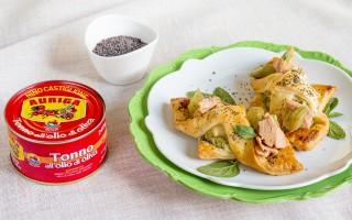 Ricetta sfogline alla crema di carciofi e tonno