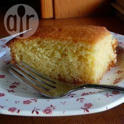 Torta di semolino al profumo d'arancia