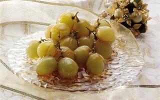 Ricetta uva al caramello