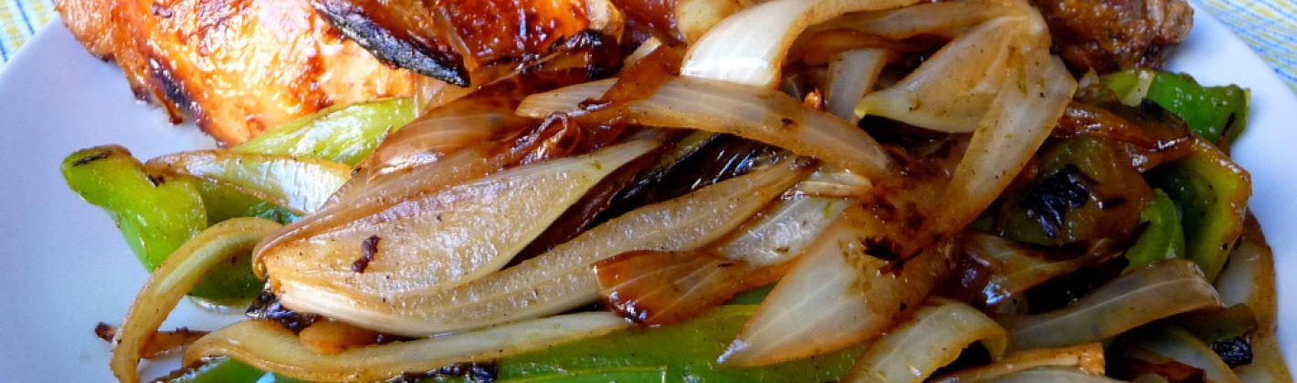 Ricetta pollo con verdure agrodolci