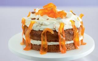 Ricetta torta di carote al profumo di agrumi